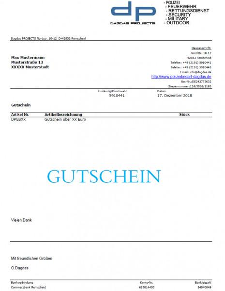 Gutschein über 125 Euro
