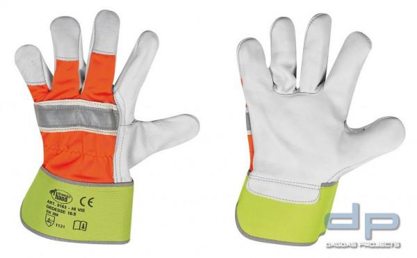 Rindvollleder-Handschuhe VPE 12 in Naturfarben