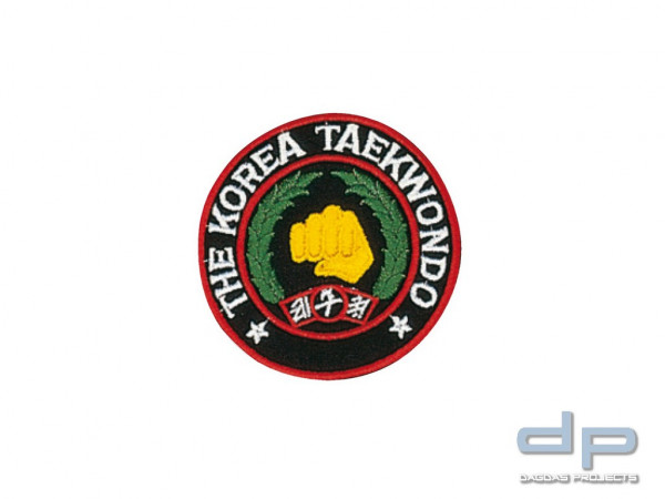 Stickabzeichen koreanisches Taekwondo-Zeichen