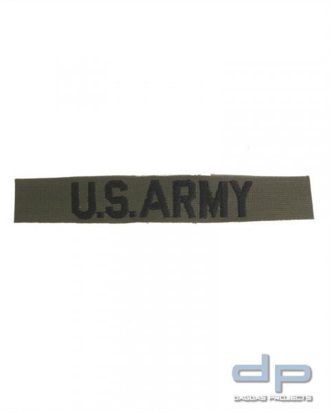 US SCHRIFTZUG TEXTIL US ARMY OLIV