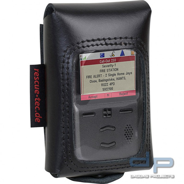 rescue-tec Meldertasche für BOS Digitalmelder Motorola Advisor TPG2200 Tetra-Pager