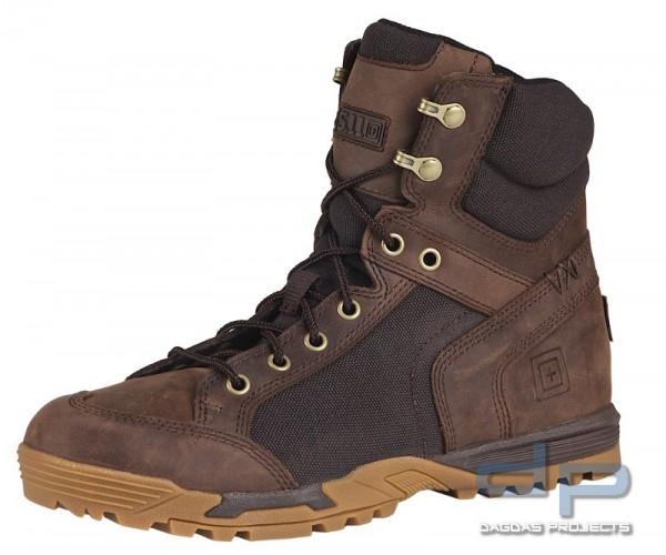 5.11 Pursuit Advance Stiefel Distressed Brown (dunkleres Braun)Größe: 45