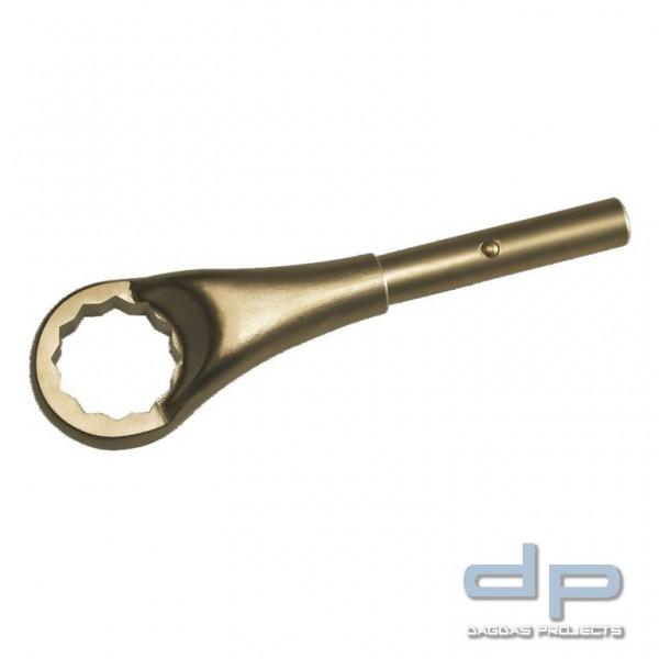 Ringzugschlüssel funkenfrei, 12-kant, 75 mm