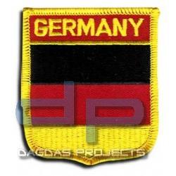 """Abzeichen zum aufbügeln """"Wappen Germany"""""""
