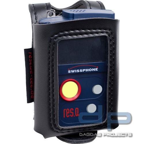 rescue-tec Meldertasche für BOS Digitalmelder SWISSPHONE RES.Q-G, RES.Q-GP, RES.Q-GP-SOS