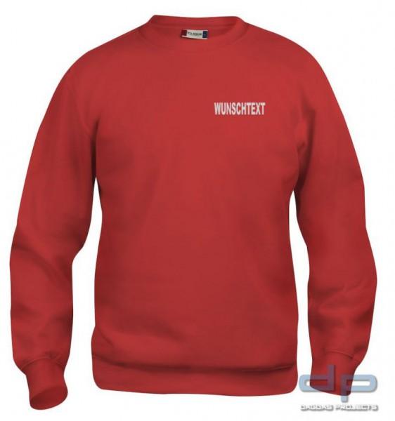 Jugendfeuerwehr Sweat-Shirt mit Aufdruck nach Wunsch in verschiedenen Farben
