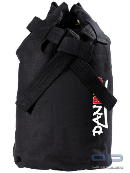 Dojo-Line Canvas Tasche in Schwarz und Weiß