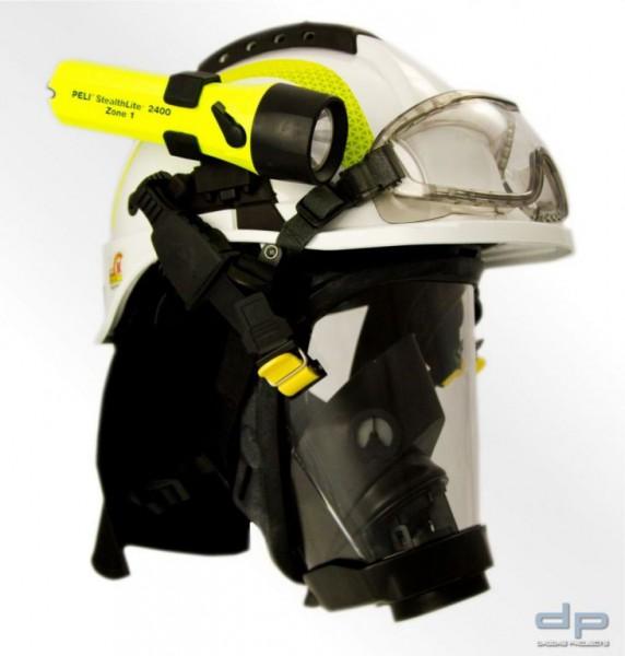 Feuerwehrhelm TYTAN HOT 101 inkl. Nomex Nackenschutz Farbe: Weiß