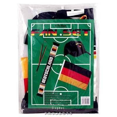 Fußball Fan Set, Deutschland