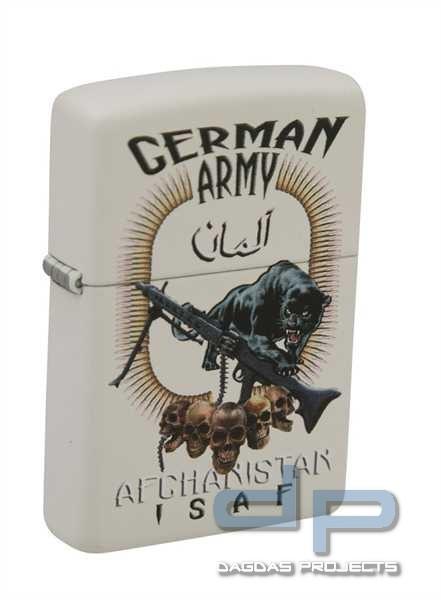 Zippo Feuerzeug German Army Afghanistan ISAF