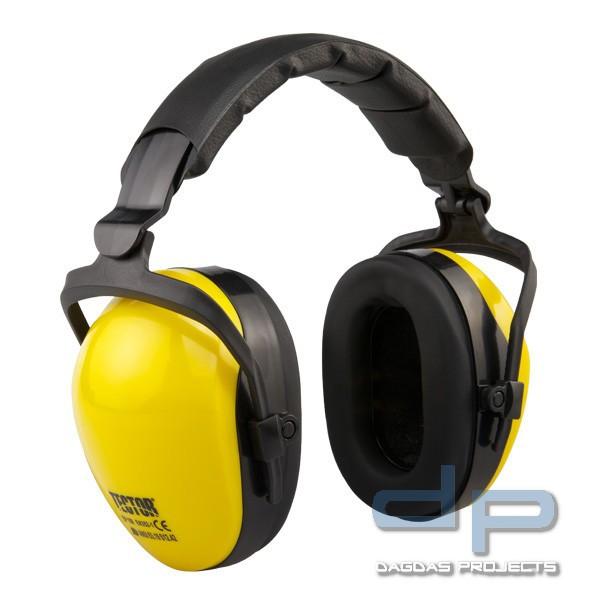 Kapselgehörschutz in Gelb