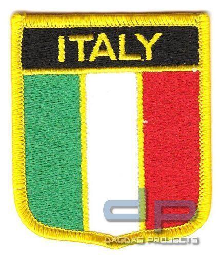 """Abzeichen zum aufbügeln """"Wappen Italien"""""""