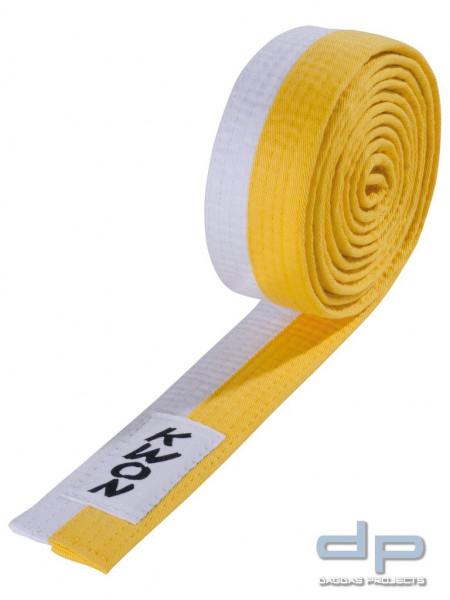 Budo-Gürtel 2-farbig in verschiedenen Farben