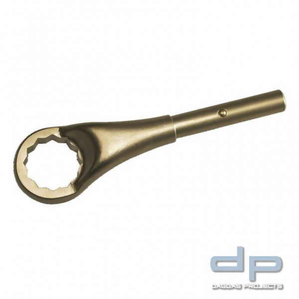 Ringzugschlüssel funkenfrei, 12-kant, 3.3/8 ″