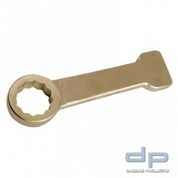 Ringschlagschlüssel funkenfrei, 12-kant, ähnlich DIN 7444, 28 mm