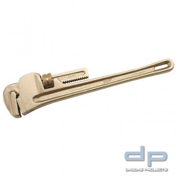 Verstellbarer Rohrschlüssel funkenfrei, Maulweite max. 2.1/2 ″